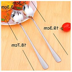 1 Set  Stainless Steel Long Handle Utensils Spoon Profession
