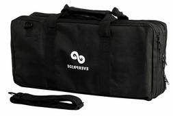 Chef Knife Bag  Holds 20 Knives PLUS Large Zipper for Kitche