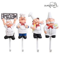 4pcs set kitchen cartoon shape resin power