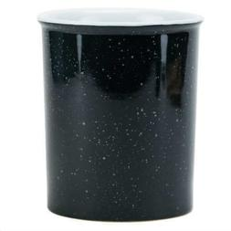 Boston Warehouse 52499 Speckle Ware Utensil Crock, Charcoal