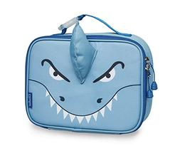Bixbee Kids Insulated Lunchbox Shark, Blue