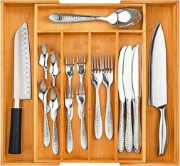 Home-it Expandable use for, Utensil Flatware Dividers-Kitche