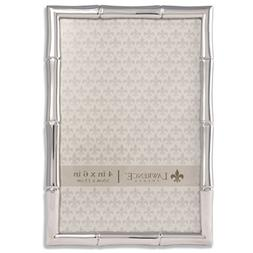 Lawrence Frames 710146 Silver Metal Bamboo Picture Frame, 4