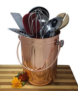 Utensil Holder Caddy Crock to Organize Kitchen Tools - Coppe