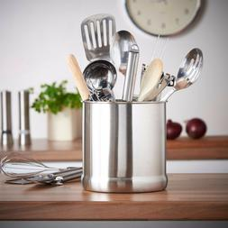 "VonShef - Stainless Steel Large Capacity 7"" Utensil Holder P"