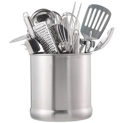 VonShef Stainless Steel Utensil Holder Large Capacity Organi