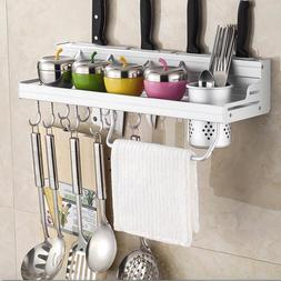 aluminum kitchen rack shelf cooking utensil tools