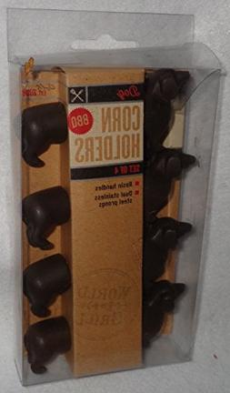 Midwest Grill Co. Animal Shaped Corn Holders - 4 sets