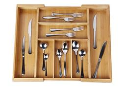 Drawer Dividers silverware tray Expandable Utensil Cutlery T