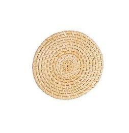 Bamboo Hot Pot Stand 5.9 Inches Small Size Round Rattan Mat