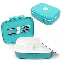 Bento Box with 5 Compartments for Adults and Kids, Leakproof