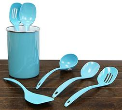 Calypso Basics by Reston Lloyd Melamine Utensil Set, 4-Piece
