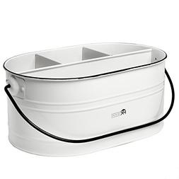 Carry-All Serveware Utensil Caddy with Plate Holder - Vintag