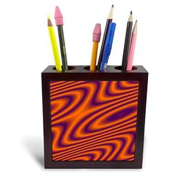 3dRose Cassie Peters Abstract - Purple and Orange Abstract -