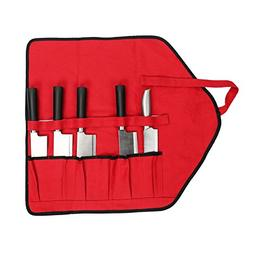 """QEES Chef's Roll-Up Tool Storage Tote Pouch 21"""" Professional"""