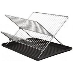 BEST PRICE New Design Chrome Folding Dish Rack