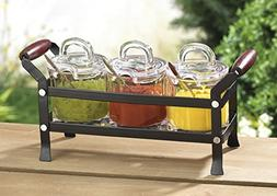 HC Classic Condiment 10 piece set in a Caddy Organizer with