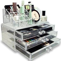 clear acrylic case holder drawers