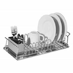 Oggi Compact 3-Piece Dish Rack and Cutlery Holder