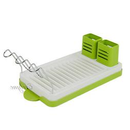 Evelyne Counter Top Utensils Holder Dish Drainer Drying Rack