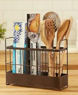 COUNTERTOP WRAP KITCHEN COCINA UTENSIL HOLDER STORAGE ORGANI