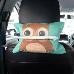 Cute Animal Home Office Car Rectangle Tissue Box Holder Pape