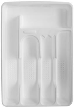 """Rubbermaid Cutlery Tray 13-1/2"""" X 9"""" X 1-3/4"""" 5 Compartments"""