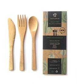 BamBoo Roots Bamboo Cutlery, Utensils 6-Pack, 6 Inches – 1