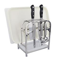 Begale Cutting Boards Organizer/Knives Block/Bakeware Rack w