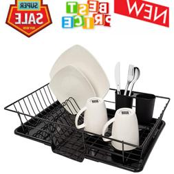 Sweet Home Collection 3 Piece Dish Drain