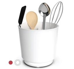 Extra Large Rotating Utensil Holder Caddy with Sturdy No-Tip