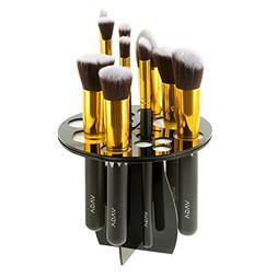 Foldable 14 Holes Makeup and Nailart Brushes Tree Rack Stand