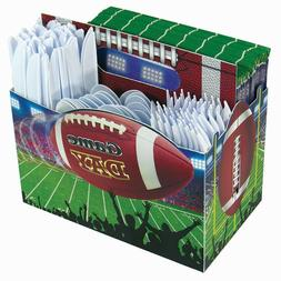 Game Day Football Caddy - Utensil Holder - Table Party Decor