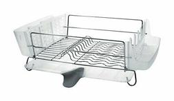 OXO Good Grips Folding Stainless-Steel Dish Rack