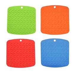 CHICHIC Heat Resistant Silicone Pot Holder, Trivet Mat, Hot