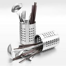 Home Cutlery Stand Holder Conical Utensil Stainless Steel Ra