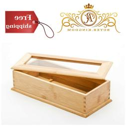 Happy Sales HSUH-BUTFLB, Utensil Holder With Divider and Cle
