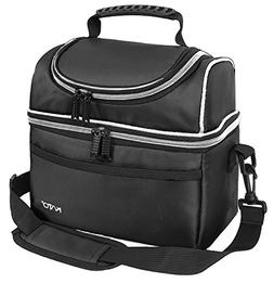 Kato Insulated Lunch Bag, Leakproof Bento Thermos Cooler Bag