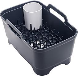 Joseph Joseph 85102 Wash & Drain Plus Dishpan and Dish Rack