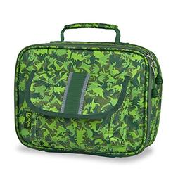 Bixbee Kids Dino Camo Insulated Lunch Box