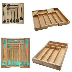 Kitchen Drawer Organizer Expandable Silverware Tray Utensil