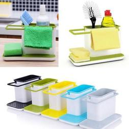 Kitchen Plastic Racks Organizer Caddy Storage Sink Utensils