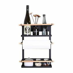 Kitchen Rack - Magnetic Fridge Organizer - 18.1x12.7x5 INCH