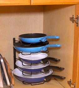 Kitchen Rack Pantry Organizer Storage Pan Utensil Holder Dra