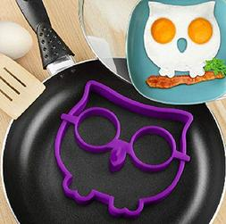 Kitchen Tool Set - Funny Creative Silicone Owl Fried Egg Mol