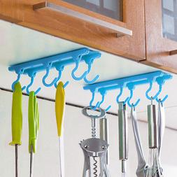 Kitchen Utensil Rack Holder Hooks Ceiling Wall Cabinet Hangi