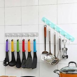 Kitchen Utensils Self Adhesive Rack Holder Hook Wall Hanging