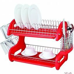 Kitchenaid Dish Drying Rack Utensil Holder Sink Cup Drainer