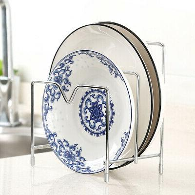 1pc dish plate utensil rack kitchen sink