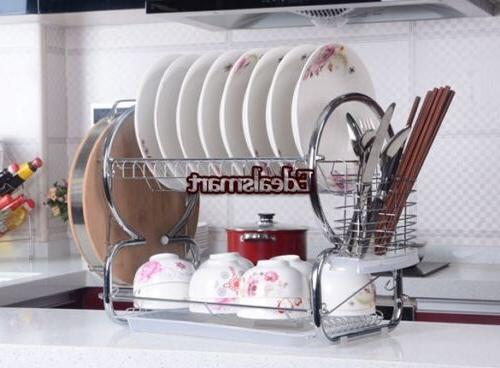 """20.5"""" Tiers Cup Rack Tray Holder"""